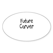 Future Carver Oval Decal