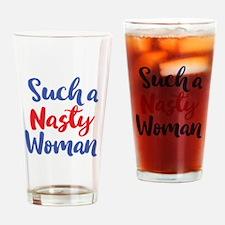 Unique Women Drinking Glass