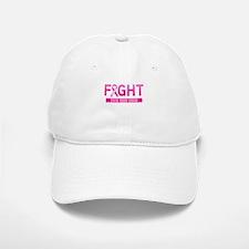 Fight Cancer Ribbon Personalized Baseball Baseball Baseball Cap