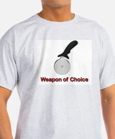 Weapon of Choice  Ash Grey T-Shirt