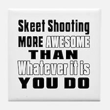 Skeet Shooting More Awesome Than What Tile Coaster