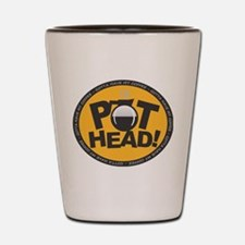 Pothead - Peach Shot Glass