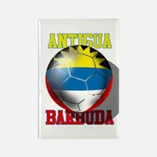 Antigua Barbuda Soccer Magnets