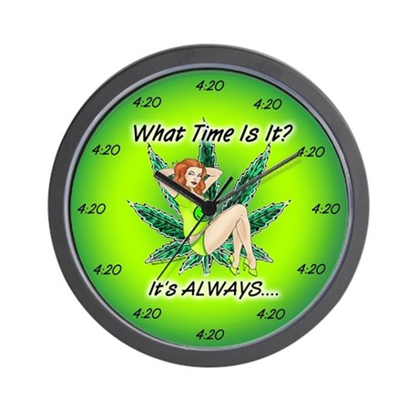 Mary Jane Wall Clock