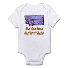 MT-Horse! Infant Bodysuit