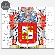 Hinojosa Coat of Arms - Family Crest Puzzle