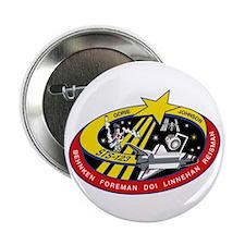 """STS 123 Endeavour 2.25"""" Button"""