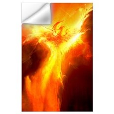 Phoenix Rising Wall Decal