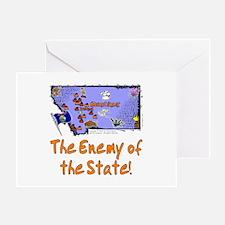 MT-Enemy! Greeting Card