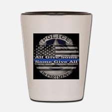 Unique Law enforcement Shot Glass