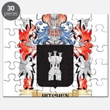 Hitchen Coat of Arms - Family Crest Puzzle