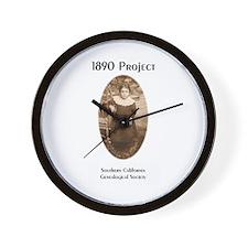 1890 Image Wall Clock