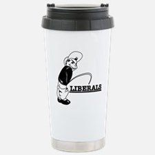 Anti Liberal designs Travel Mug