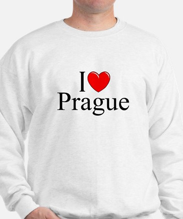 """I Love Prague"" Sweatshirt"