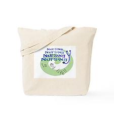 Funny Palliative care Tote Bag