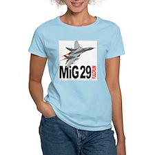 MiG 29 Fulcrum Women's Pink T-Shirt