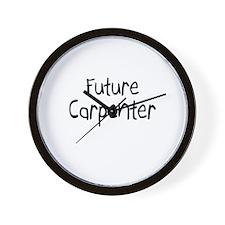 Future Carpenter Wall Clock