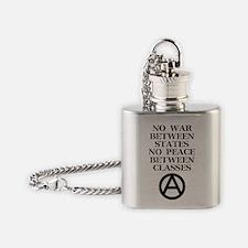 Funny Leftie Flask Necklace