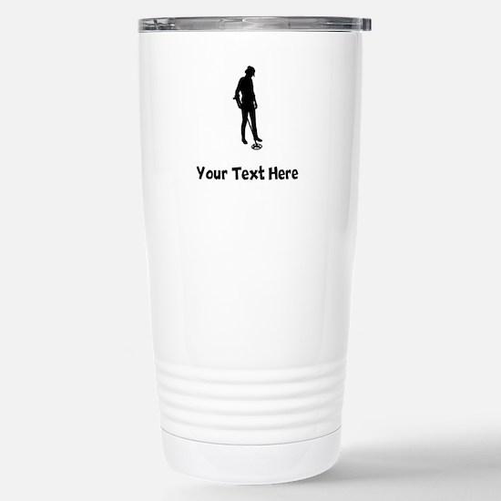 Coinshooter Silhouette Travel Mug