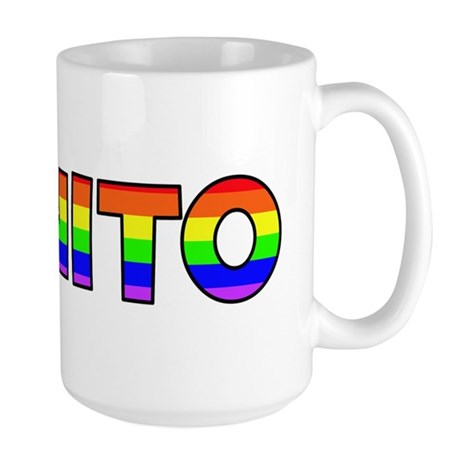 Benito Gay Pride (#004) Large Mug