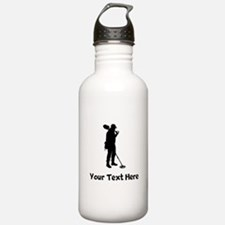 Coinshooter Silhouette Water Bottle
