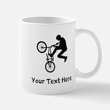 BMX Rider Silhouette Mugs