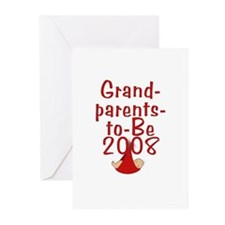 Grandparents-to-Be 2008 Greeting Cards (Pk of 10)