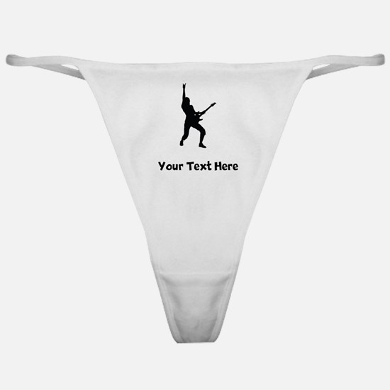 Rock Star Silhouette Classic Thong