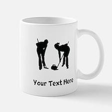 Curlers Silhouette Mugs