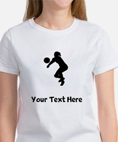Volleyball Player Silhouette T-Shirt