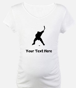 Hockey Player Silhouette Shirt
