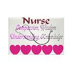 Nurse COMPASSION WISDOM UNDERSTANDING 5 PINK HEART