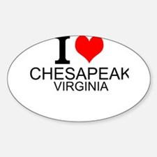 I Love Chesapeake, Virginia Decal