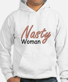 Nasty Woman Light Hoodie