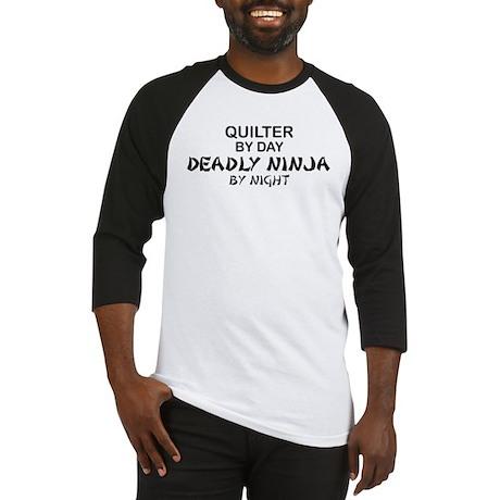 Quilter Deadly Ninja Baseball Jersey