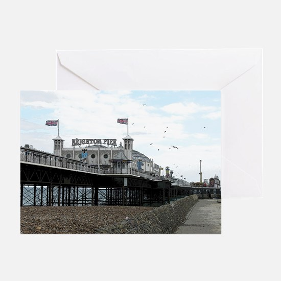 Cute Brighton pier Greeting Card