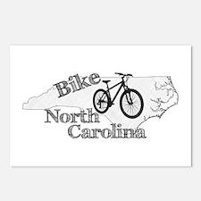 Bike North Carolina Postcards (Package of 8)