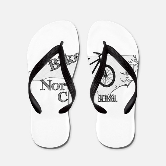 Bike North Carolina Flip Flops