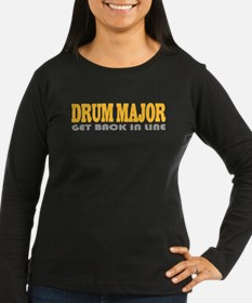 Funny Drum Major Long Sleeve T-Shirt