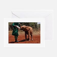 Baby Elephant Greeting Cards
