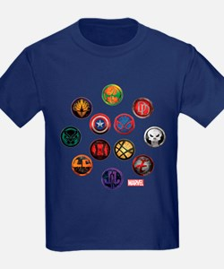 Marvel Grunge Icons T