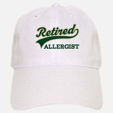 Retired Allergist Baseball Baseball Cap
