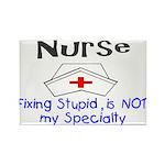 NURSE FIXING STUPID IS NOT MY SPECIALTY NURSE CAP.