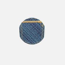 Zipper Pocket Mini Button