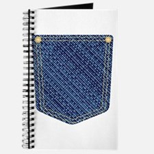 Plain Denim Pocket Journal