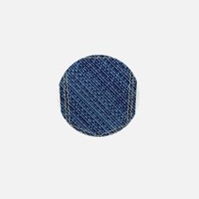 Plain Denim Pocket Mini Button