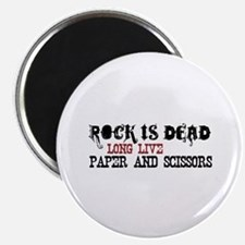 "Rock is Dead 2.25"" Magnet (100 pack)"
