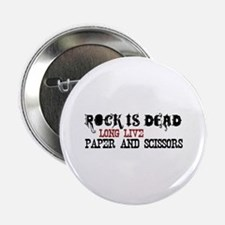 "Rock is Dead 2.25"" Button (100 pack)"