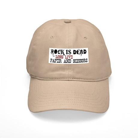 Rock is Dead Cap