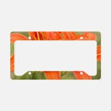 Cute Plants License Plate Holder